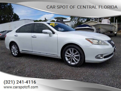 2012 Lexus ES 350 for sale at Car Spot Of Central Florida in Melbourne FL
