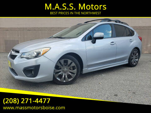 2014 Subaru Impreza for sale at M.A.S.S. Motors in Boise ID
