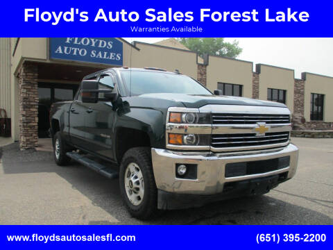 2015 Chevrolet Silverado 2500HD for sale at Floyd's Auto Sales Forest Lake in Forest Lake MN