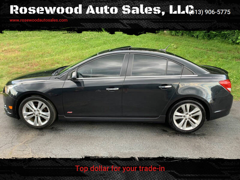 2013 Chevrolet Cruze for sale at Rosewood Auto Sales, LLC in Hamilton OH