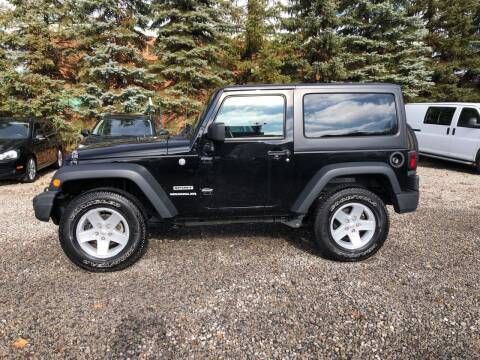 2015 Jeep Wrangler for sale at Renaissance Auto Network in Warrensville Heights OH