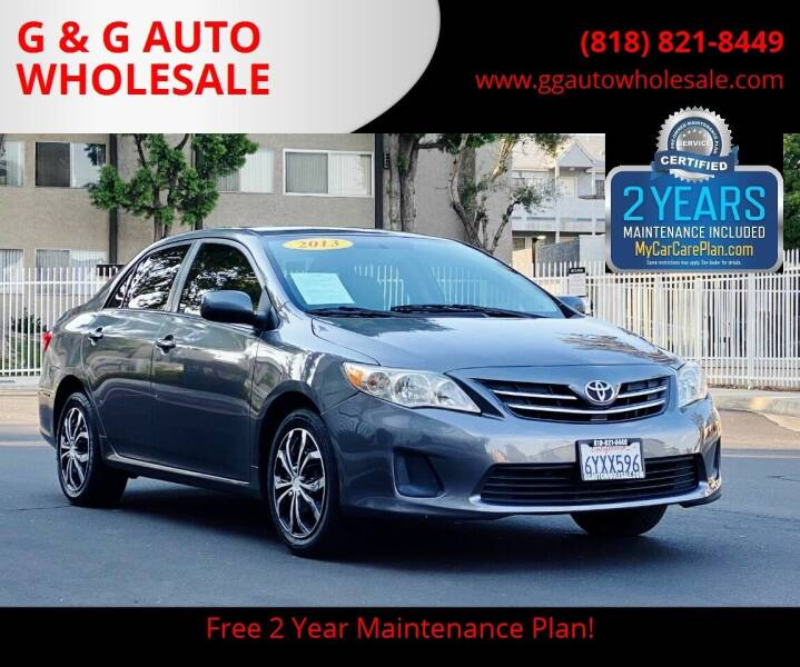 2013 Toyota Corolla for sale in North Hollywood, CA