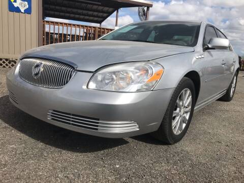 2011 Buick Lucerne for sale at Texas Country Auto Sales LLC in Austin TX