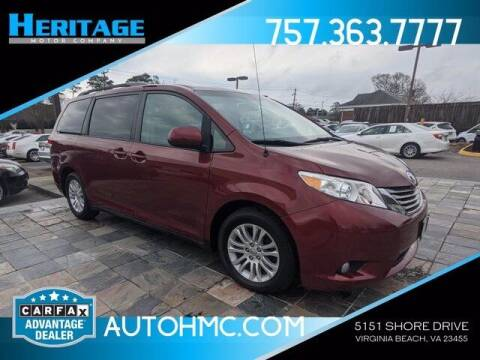 2014 Toyota Sienna for sale at Heritage Motor Company in Virginia Beach VA