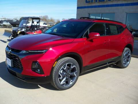 2021 Chevrolet Blazer for sale at Tyndall Motors in Tyndall SD