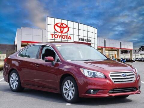 2017 Subaru Legacy for sale at PHIL SMITH AUTOMOTIVE GROUP - Pinehurst Toyota Hyundai in Southern Pines NC