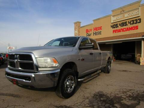 2012 RAM Ram Pickup 2500 for sale at Import Motors in Bethany OK