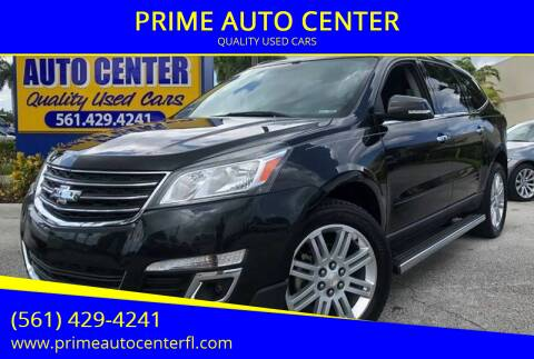 2013 Chevrolet Traverse for sale at PRIME AUTO CENTER in Palm Springs FL