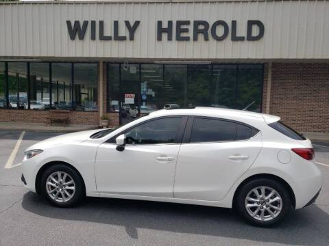 2016 Mazda MAZDA3 for sale at Willy Herold Automotive in Columbus GA