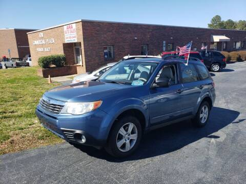 2010 Subaru Forester for sale at ARA Auto Sales in Winston-Salem NC