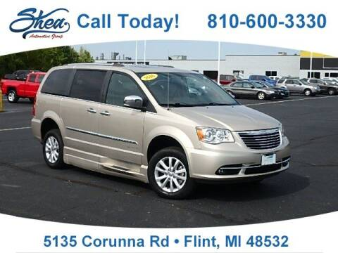 2016 Chrysler Town and Country for sale at Jamie Sells Cars 810 in Flint MI