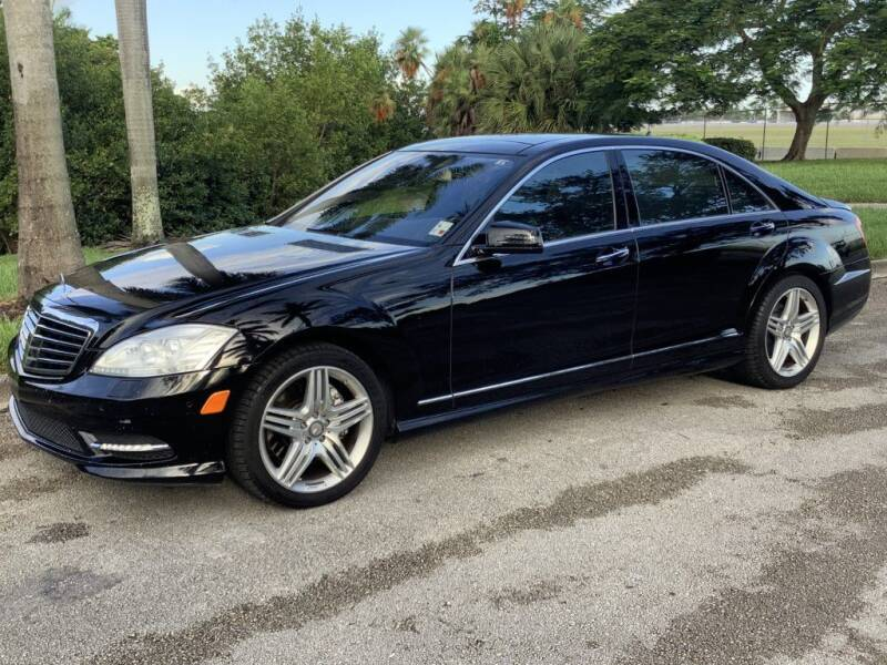 2013 Mercedes-Benz S-Class for sale at Hardy Automotive in Hollywood FL
