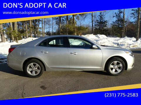2016 Chevrolet Malibu Limited for sale at DON'S ADOPT A CAR in Cadillac MI