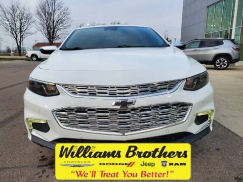 2017 Chevrolet Malibu for sale at Williams Brothers - Pre-Owned Monroe in Monroe MI