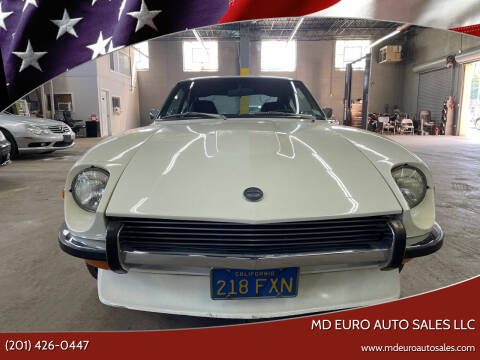 1972 Datsun 240Z for sale at MD Euro Auto Sales LLC in Hasbrouck Heights NJ