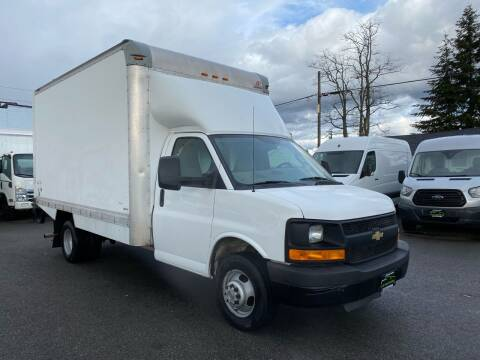 2016 Chevrolet Express 3500 Box truck for sale at Lux Motors in Tacoma WA