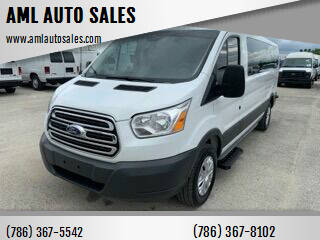 2018 Ford Transit Passenger for sale at AML AUTO SALES - Passenger Vans in Opa-Locka FL