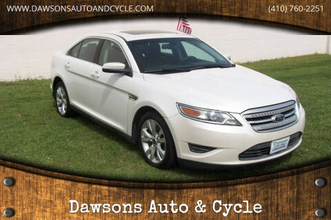2011 Ford Taurus for sale at Dawsons Auto & Cycle in Glen Burnie MD