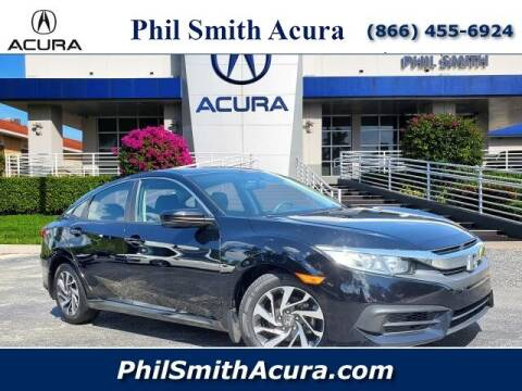 2018 Honda Civic for sale at PHIL SMITH AUTOMOTIVE GROUP - Phil Smith Acura in Pompano Beach FL