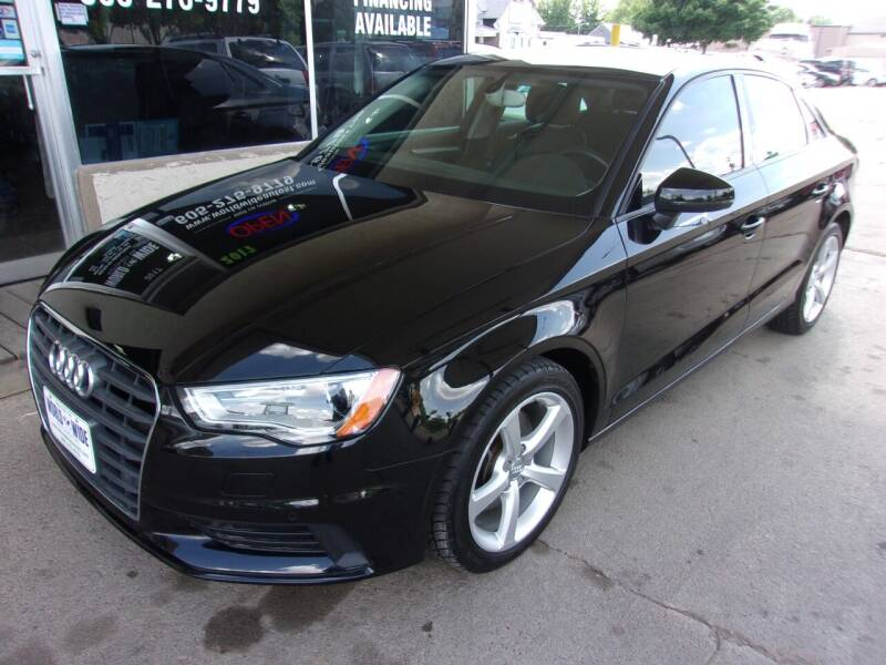 2015 Audi A3 for sale at World Wide Automotive in Sioux Falls SD