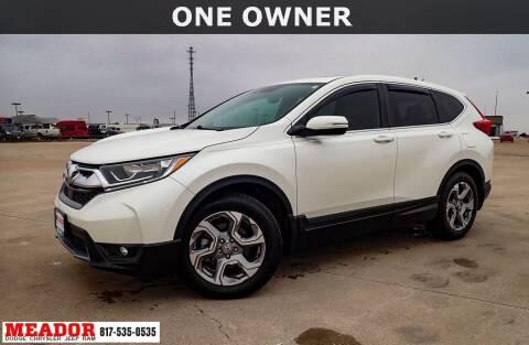 2018 Honda CR-V for sale at Meador Dodge Chrysler Jeep RAM in Fort Worth TX