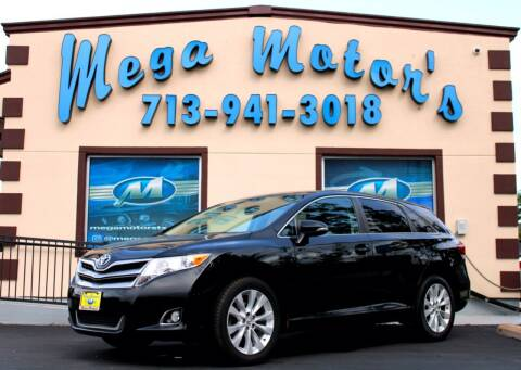 2013 Toyota Venza for sale at MEGA MOTORS in South Houston TX