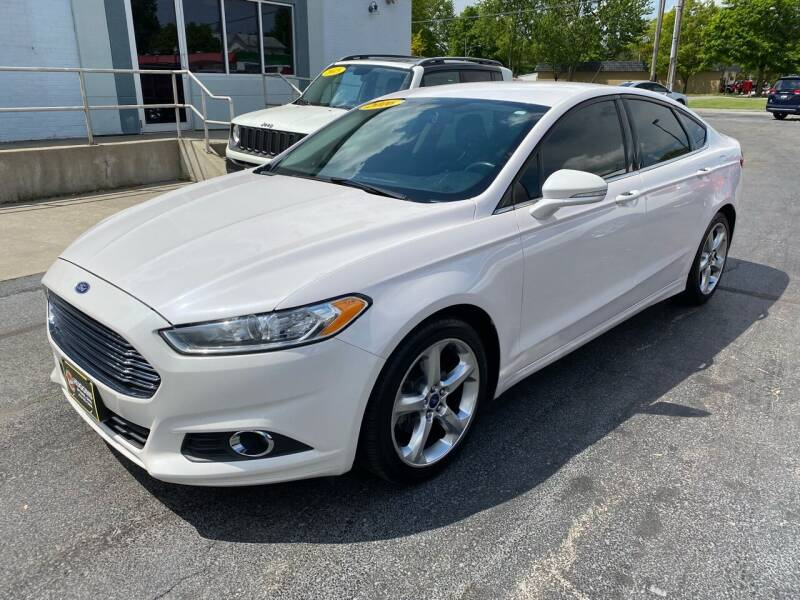 2016 Ford Fusion for sale at Huggins Auto Sales in Ottawa OH