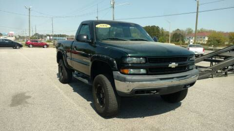 2001 Chevrolet Silverado 1500 for sale at Kelly & Kelly Supermarket of Cars in Fayetteville NC