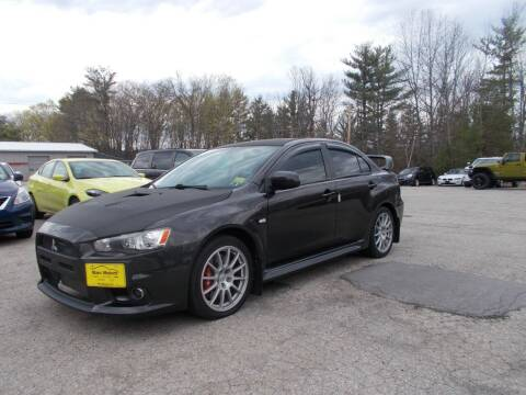 2011 Mitsubishi Lancer Evolution for sale at Manchester Motorsports in Goffstown NH