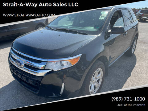 2013 Ford Edge for sale at Strait-A-Way Auto Sales LLC in Gaylord MI