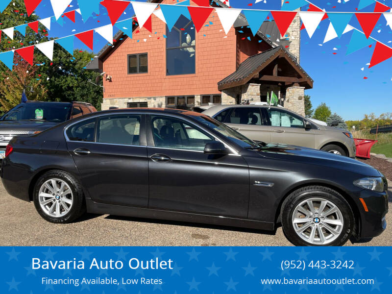 2014 BMW 5 Series for sale at Bavaria Auto Outlet in Victoria MN