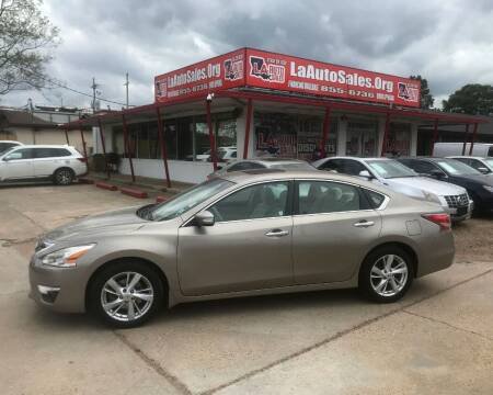 2014 Nissan Altima for sale at LA Auto Sales in Monroe LA