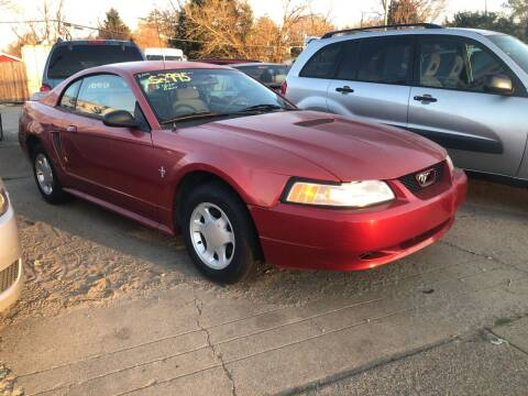 2000 Ford Mustang for sale at AFFORDABLE USED CARS in Richmond VA