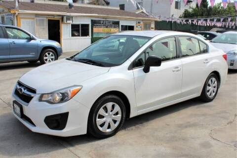 2013 Subaru Impreza for sale at Good Vibes Auto Sales in North Hollywood CA