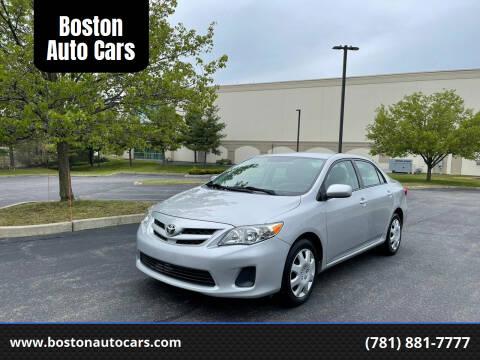 2012 Toyota Corolla for sale at Boston Auto Cars in Dedham MA