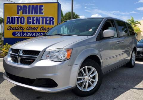 2014 Dodge Grand Caravan for sale at PRIME AUTO CENTER in Palm Springs FL