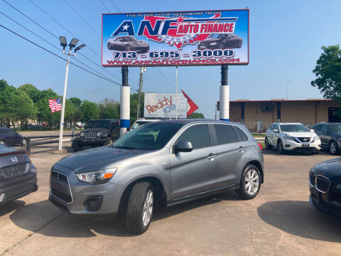 2015 Mitsubishi Outlander Sport for sale at ANF AUTO FINANCE in Houston TX