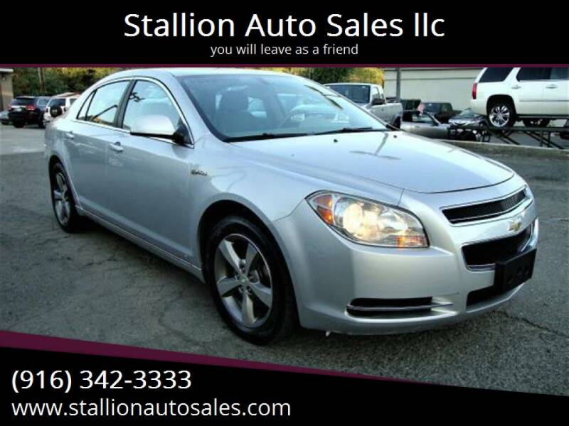 2009 Chevrolet Malibu Hybrid for sale at Stallion Auto Sales llc in Roseville CA