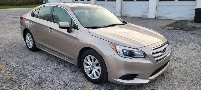 2015 Subaru Legacy for sale at WEELZ in New Castle DE