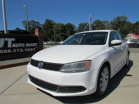 2012 Volkswagen Jetta for sale at J T Auto Group in Sanford NC