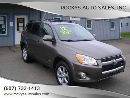 2012 Toyota RAV4 for sale at Rockys Auto Sales, Inc in Elmira NY