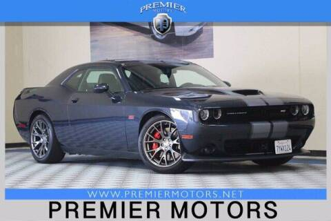 2017 Dodge Challenger for sale at Premier Motors in Hayward CA