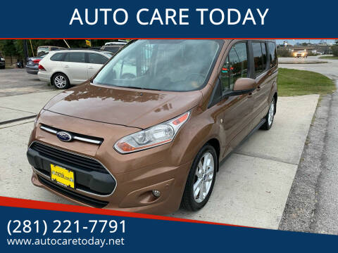 2014 Ford Transit Connect Wagon for sale at AUTO CARE TODAY in Spring TX