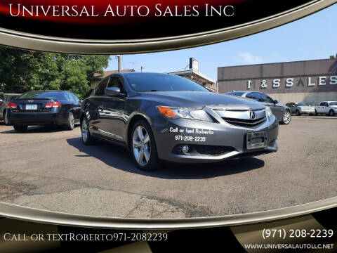 2013 Acura ILX for sale at Universal Auto Sales Inc in Salem OR