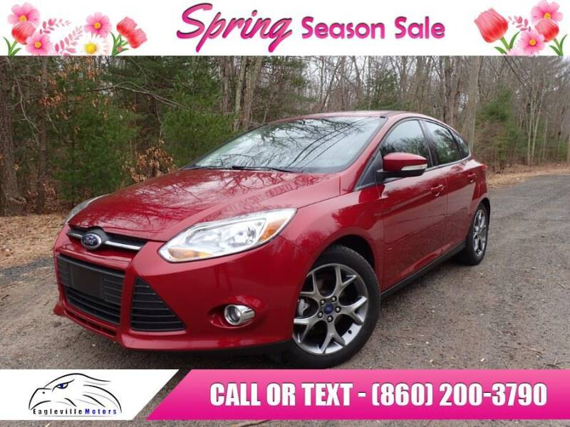 2013 Ford Focus for sale at EAGLEVILLE MOTORS LLC in Storrs CT