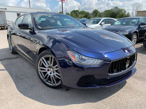 2016 Maserati Ghibli for sale at KAYALAR MOTORS in Houston TX