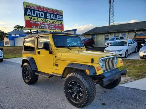 2001 Jeep Wrangler for sale at Mox Motors in Port Charlotte FL