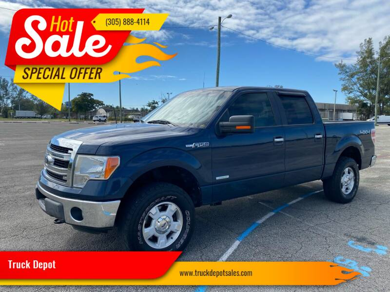 2014 Ford F-150 for sale at Truck Depot in Miami FL