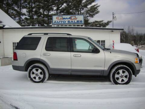 2004 Ford Explorer for sale at G and G AUTO SALES in Merrill WI