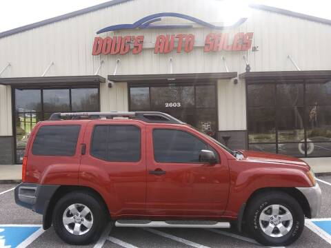 2010 Nissan Xterra for sale at DOUG'S AUTO SALES INC in Pleasant View TN